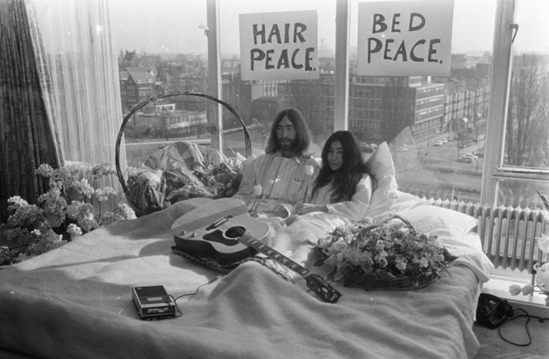 Bedroom John Yoko Lennon