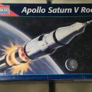 Saturn V scale model rocket