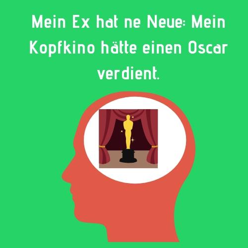 Mein Ex hat neu Neue Mein Kopfkino hätte einen Oscar verdient