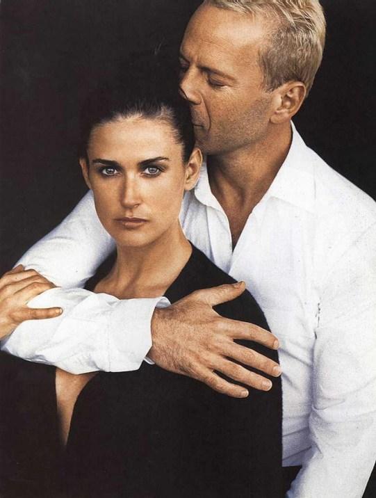 Demi Moore - Bruce Willis by Peter Lindbergh