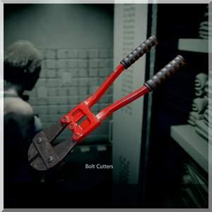 Болторез в Resident Evil 3