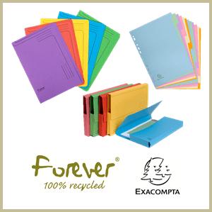 Forever Exacompta Card Range