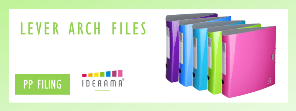 Iderama Lever Arch Files by Exacompta