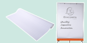 Exacompta Paper Flipchart Range for schools, offices and meetings