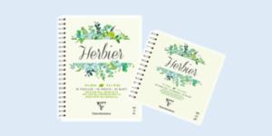 Clairefontaine 'Herbier' Herbarium/Flower press books