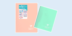 Clairefontaine Koverbook Blush notebook range in pastel colours