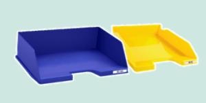 Exacompta plastic Letter Tray range for holding documents