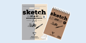 Clairefontaine 'Sketch' fine art pads and books