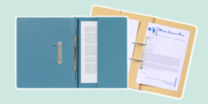 Exacompta Guildhall Spring Files for legal and professional filing