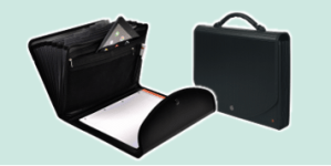Exacompta conference folders and porfolios for meetings and executive users