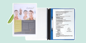 Exacompta Presentation Folders for presenting and meetings, available from ExaClair Limited