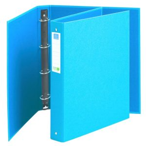 Exacompta Clean'Safe Antimicrobial Blue Ring binders
