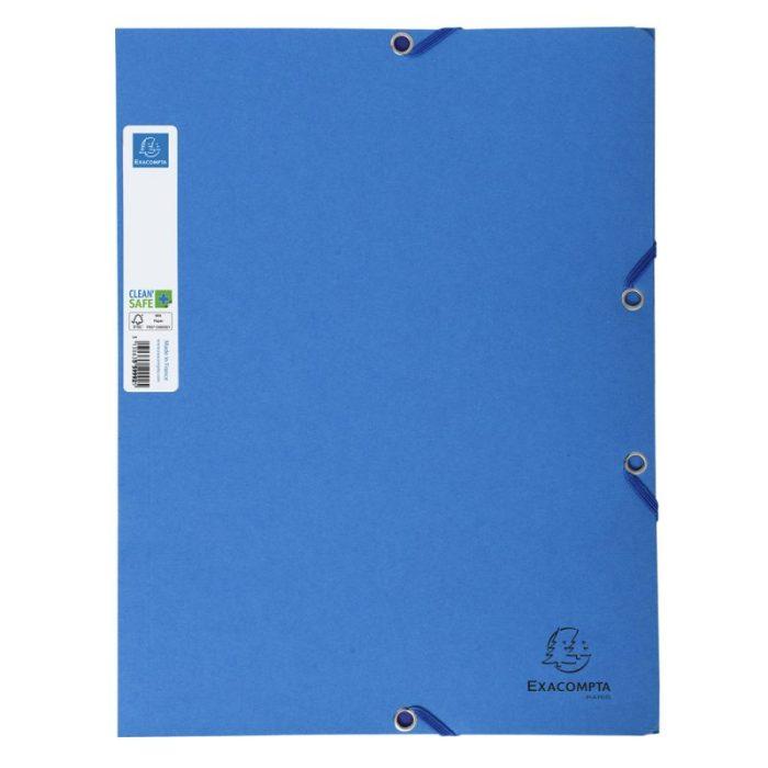 Exacompta 56122E Clean'Safe Elasticated Folder