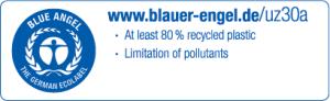 Blue Angel - The German Ecolabel - UZ30a category
