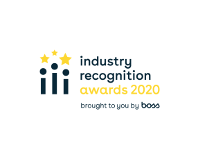 Industry Recognition Awards 2020 brough to you by BOSS