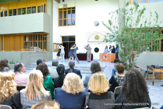 Acto de celebración de los 38 años de la FCEFN