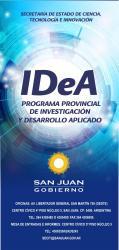 IDEA 2013: Apertura del Programa Provincial de Investigación y Desarrollo Aplicado