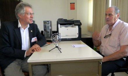 Entrevista a Rubén Gianni y Stefan Wohnlich,  coordinadores del Workshop  sobre Geotermia