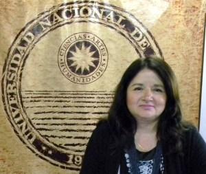 Nilda Mendoza entrevista sobre Centro de Geotermia