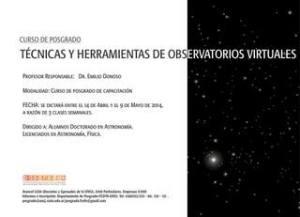 Técnicas y Herramientas de Observatorios Virtuales