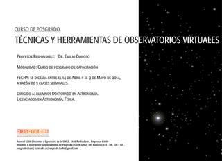 Curso de Posgrado: Técnicas y Herramientas de Observatorios Virtuales