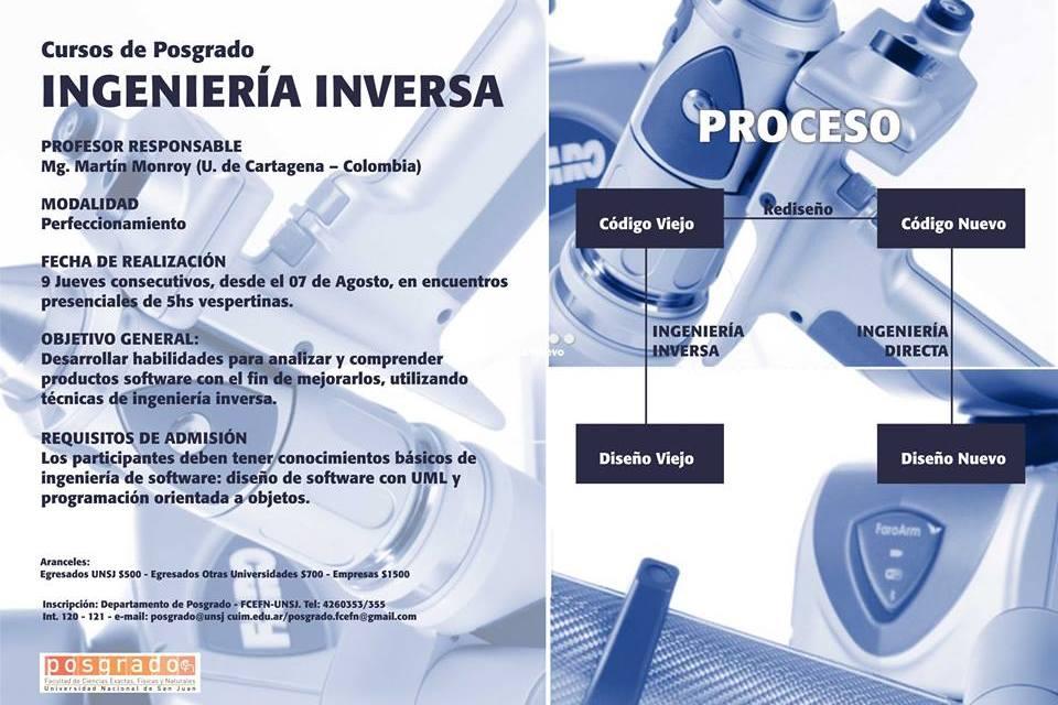 Curso de posgrado: Ingeniería inversa