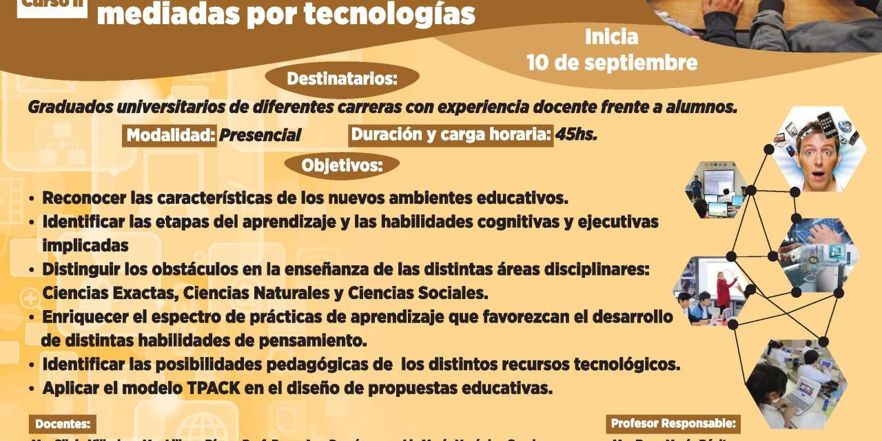 Posgrado: Diseño de prácticas pedagógicas