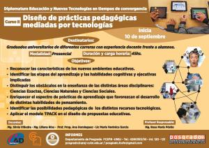 Curso de Posgrado: Diseño de prácticas pedagógicas mediadas por tecnologías