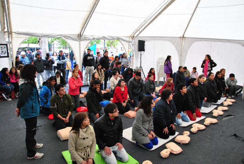 TUE: Enfermería capacitó a la comunidad sanjuanina