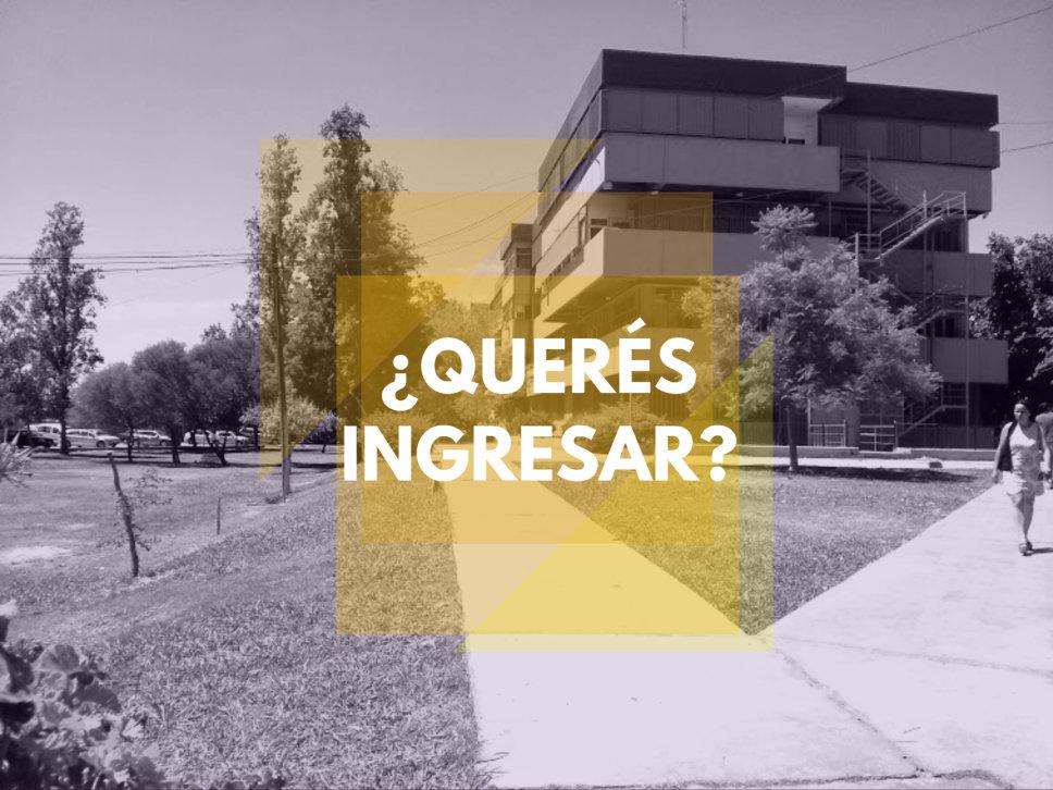 Información sobre el Ingreso 2018 a nuestra Facultad