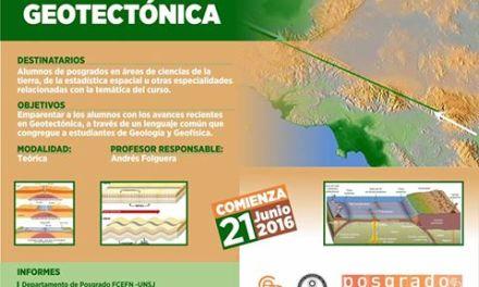 Curso de Posgrado: Geotectónica