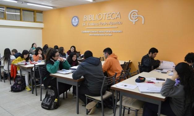 Información para usuarios de la Biblioteca Pedro Aparicio (FCEFN)