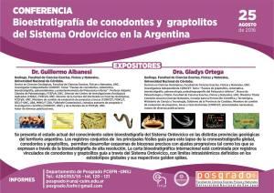 Conferencia bioestratigrafía