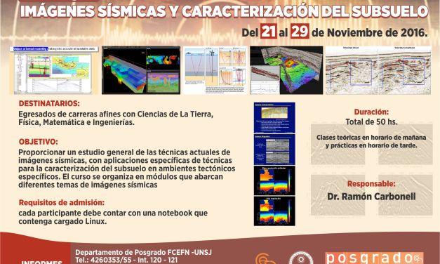 Posgrado: Imágenes sísmicas y caracterización del subsuelo