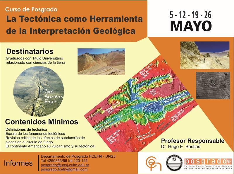 La tectónica como herramienta de la interpretación geológica