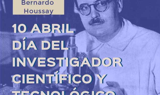 Feliz día del Investigador Científico y Tecnológico
