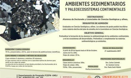 Ambientes sedimentarios y paleoecosistemas continentales