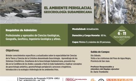 Curso: El ambiente periglacial, Geocriología sudamericana