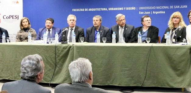 San Juan 2030: Exactas participó de la firma del acta complementaria con el sector académico