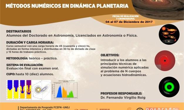 Métodos numéricos en dinámica planetaria