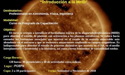Curso de Posgrado: Introducción a la Magnetohidrodinámica