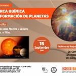 Curso de Posgrado: La Marca Química de la Formación de Planetas