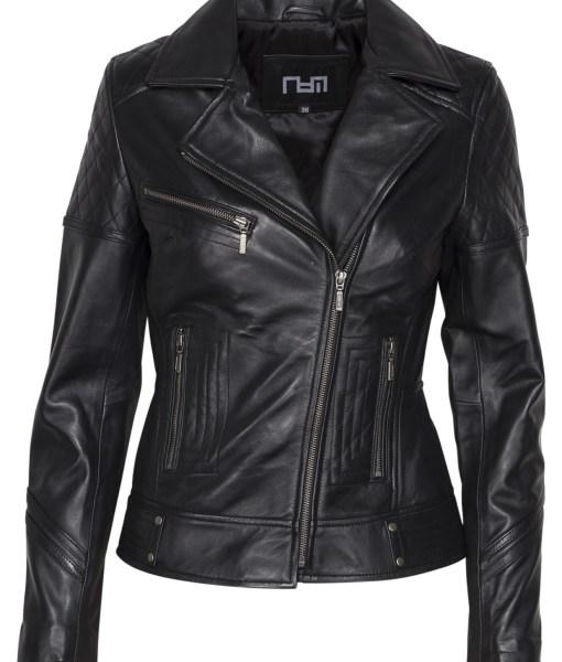 dames motor jasje rbm -497 zwart