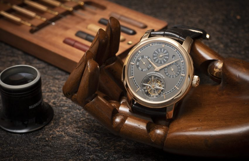 Vacheron Constantin on wooden hand