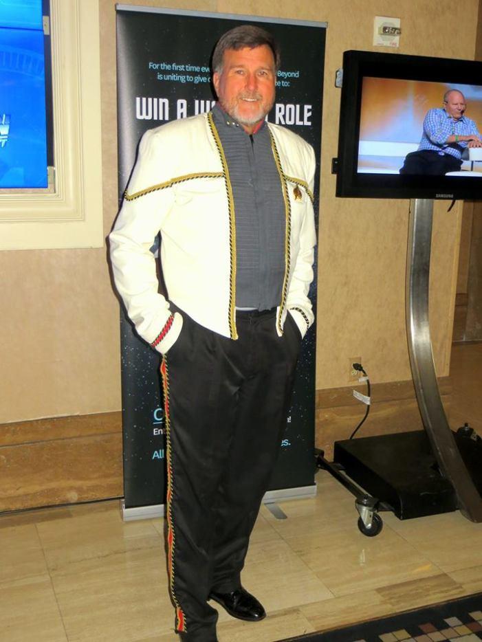 Completed Riker Uniform
