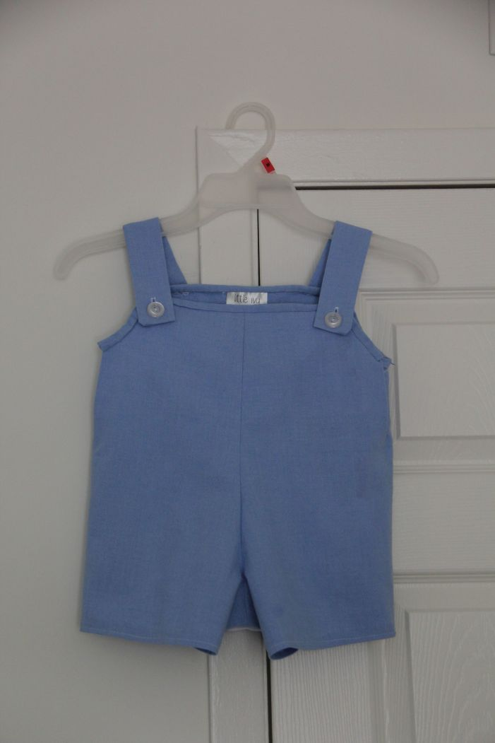 Completed Blue Overalls