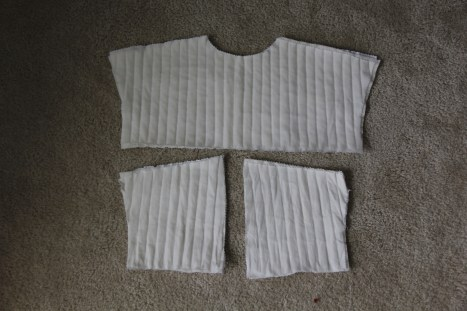 Quilted Front and Back Body Yokes