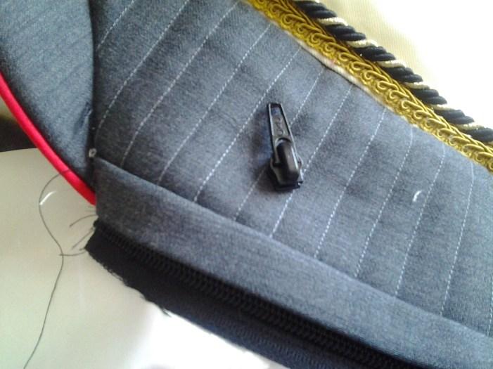 Zipper fail