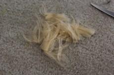 Buh-bye hair