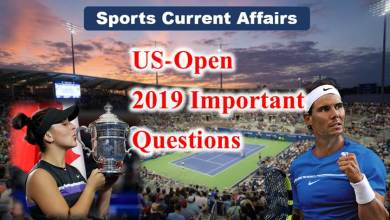 Photo of Sports Current Affairs : US-open 2019Important Questions